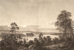 Cape Diamond, Plains of Abraham, and part of the town of Quebec and River St Lawrence